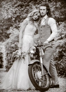Secret Messages Styled Shoot with the following collaborators - Larmer Tree Gardens, Gullicks Florist, Pinn Studio, Marmalade Furniture, Regent Tailoring, Brides By Victoria, Teresa Jolly MUA, Ollie Vines Seven Ivy Hairdressing stylist, VP Motorcycles, Jonathan Green Antiques, Jodie Samantha Steele - Model, Alex Garbut - Model, Barbara Leatham Photography. The shoot took place on Monday 11th May 2015 at Larmer Tree Gardens, based in Salsibury on the border of Wiltshire and Dorset.